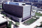 Life Sciences Building, view from northwest, 1985