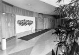 Lobby of the Life Sciences building, 1975