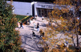 Birds-eye view of the entrance to David A. Straz, Jr., Hall, 2000