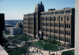View of the Schroeder Complex as seen from Memorial Library, 1986
