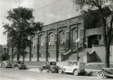 South facade of the Marquette gymnasium, 1936