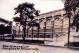 South facade of the Marquette gymnasium, circa 1923