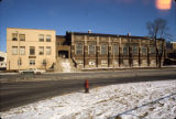 Marquette gymnasium as seen from 16th and Clybourn Streets