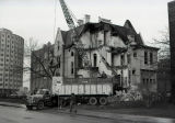 The William Plankinton Mansion, as it looked during the demolition process, 1969-1970