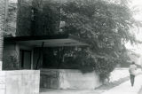 A side entrance to an addition to the Elizabeth Plankinton Mansion, circa 1979