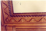 An example of the detailed woodwork found in the Elizabeth Plankinton Mansion, circa 1973