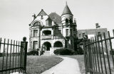 The Elizabeth Plankinton Mansion, as viewed from the front gates of the property, 1978