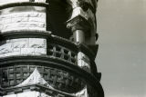 Detail view of the turret of the Elizabeth Plankinton Mansion, 1978