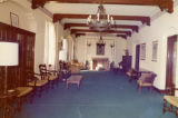 North view of the second floor reading room, circa 1973