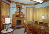 View of the northeast bedroom in the Elizabeth Plankinton Mansion, circa 1973