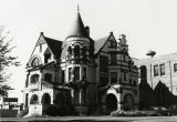 The Elizabeth Plankinton Mansion as seen shortly before its demolition