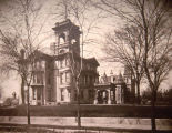 The John Plankinton Mansion, as seen from West Wisconsin Avenue during its early years