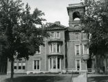 East facade and entrance to the John Plankinton Mansion, circa 1960