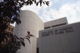 West facade, Emory Clark Hall,