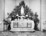 Altar of the Blessed Virgin in Gesu's Lower Church, 1931