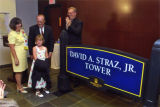 Dedication of David A. Straz, Jr. Tower, 2002