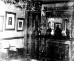 Interior shot of a bedroom in the John Plankinton Mansion