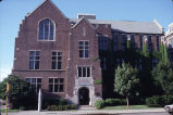 North facade of Sensenbrenner Hall, 1991