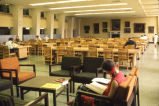 Reading room in Memorial Library