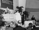 Dedication Ceremony, Brooks Memorial Union, 1953