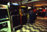 Game room on the ground floor of the Brooks Memorial Union, 1982