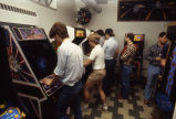 Game room of Brooks Memorial Union, 1980