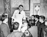 Father Brooks Mosaic, Brooks Memorial Union, 1953