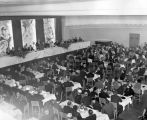 Gimbel art dinner and dedication of the Marquette University Murals, 1954