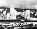 Drama Mural, Brooks Memorial Union, 1953