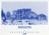 Cover, Marquette University Alumni Memorial Union Groundbreaking, 1989