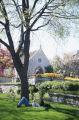 Saint Joan of Arc Chapel and garden, 1998