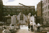 Saint Joan of Arc Chapel reconstruction progress, 1966