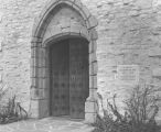 Main entry, Saint Joan of Arc Chapel