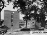 East facade, O'Donnell Hall, 1952