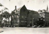 Northern and eastern facades of Sensenbrenner Hall as viewed from Wisconsin Avenue, 1930