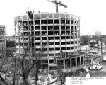 McCormick Hall construction site, 1967