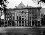 North facade of Johnston Hall, facing Wisconsin Avenue, 1920?