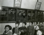 Visiting Korean school; November 19, 1953