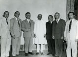 Meeting with Indian Prime Minister Jawaharlal Nehru; April 7, 1953