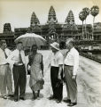 Visit to Angkor Wat; December 1953