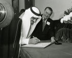 Zablocki and Crown Prince Fahd; n.d.