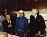 Zablocki and Indian Prime Minister Morarji Desai; June 13, 1978