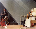 Speaking before the Pope; November 1981