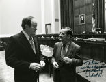 Speaking with Hubert Humphrey; October 29, 1973