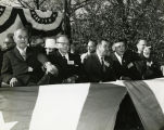 President Johnson's visit to Kosciuszko Park; October 30, 1964