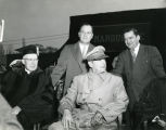 General Douglas MacArthur receives honorary degree from Marquette University; April 27, 1951