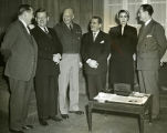Zablocki and committee colleagues conferring with General Eisenhower; December 6, 1951