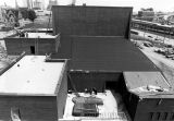 Bird's eye view of the Helfaer Theatre, circa 1975