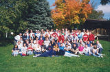 Group photo of students participating in the Students Taking Active Roles program, 2001