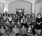 Nursing students gather for a picture, circa 1940